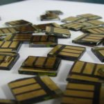 small square solar cells